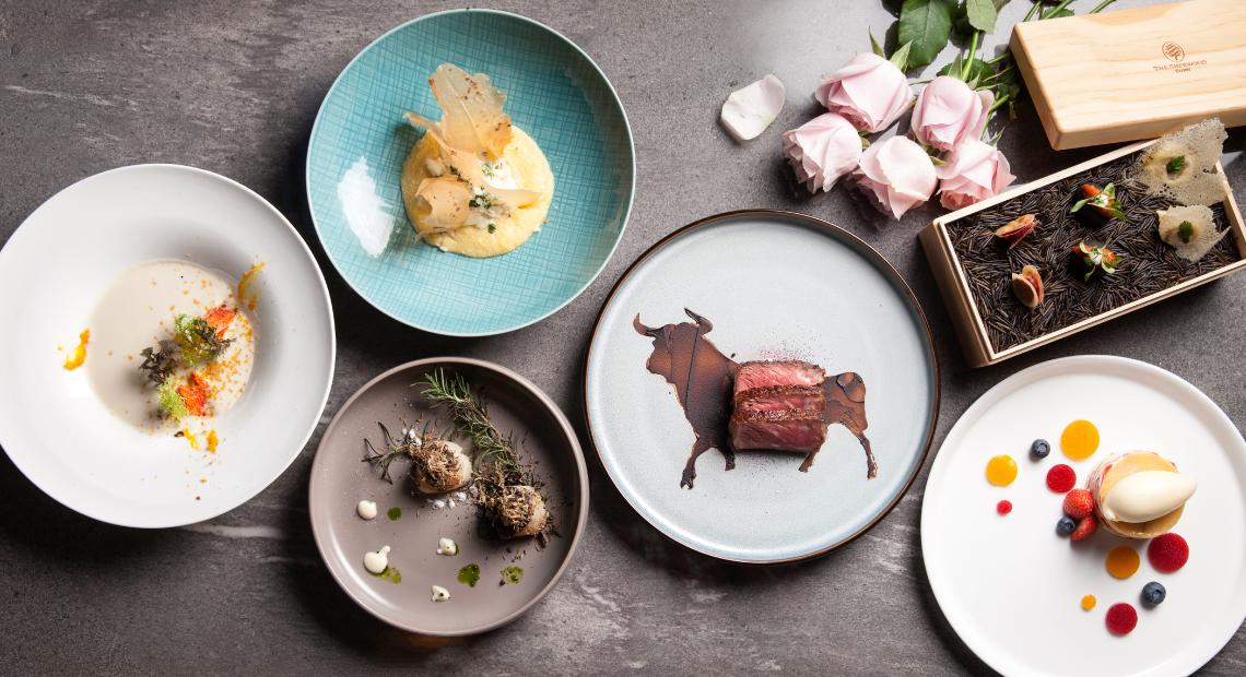 西華飯店推出「TOSCANA浪漫情人節套餐」。