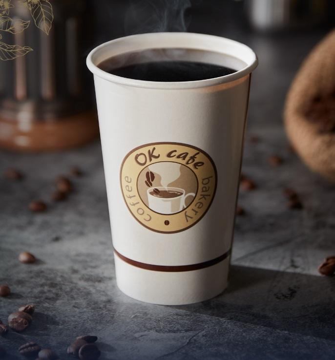 OK超商推出咖啡買二送二。