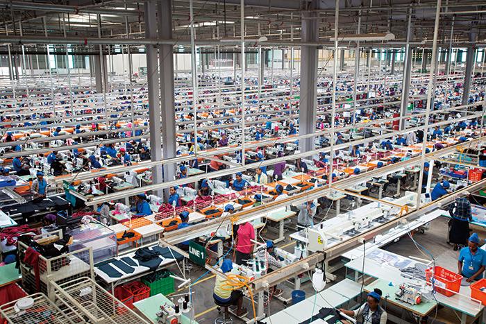 台灣知名紡織廠宏遠海外第一座成衣廠設在衣索比亞。