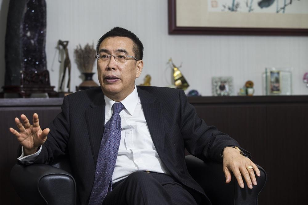 momo董事長暨總經理林啟峰。