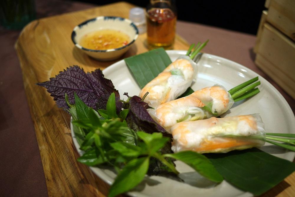 越式蝦春捲