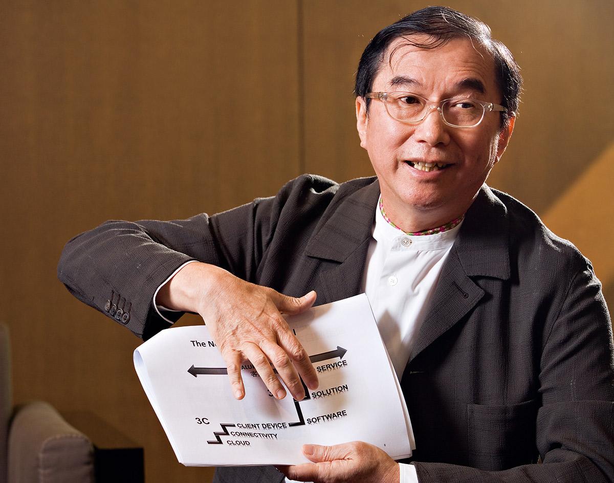 廣達電腦公司董事長 林百里