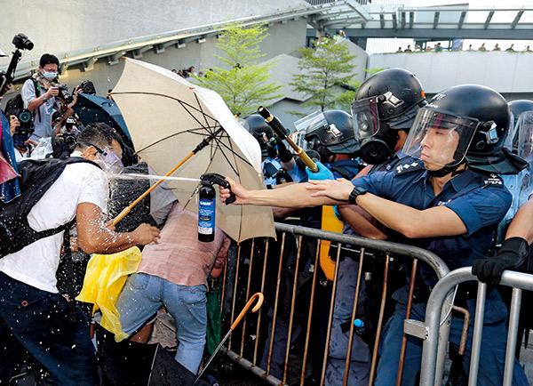 香港雨傘革命