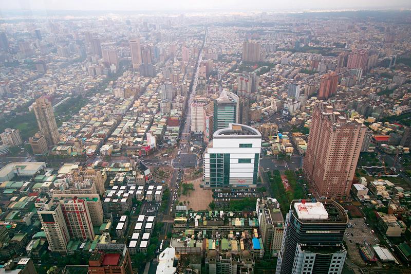 台灣PM2.5數值昌期超標