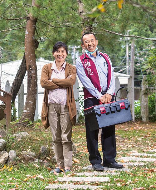 傅國華和林依瑩