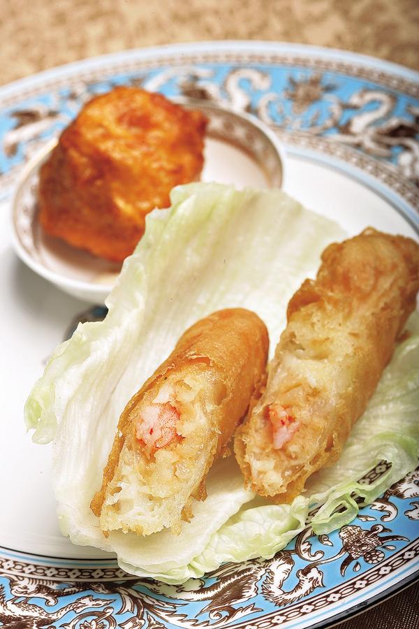 府城香酥鮮蝦捲