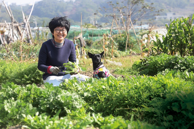 作家林黛羚變身菜鳥農夫