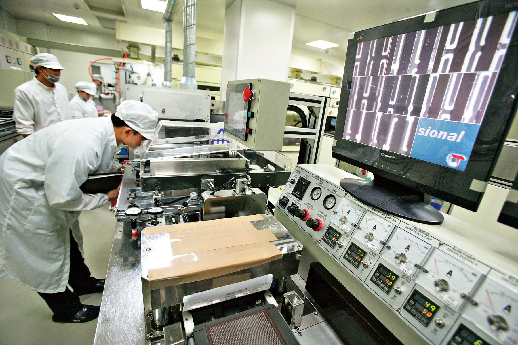 受惠中國智慧型手機訂單,奇力新今年成長優於同業。