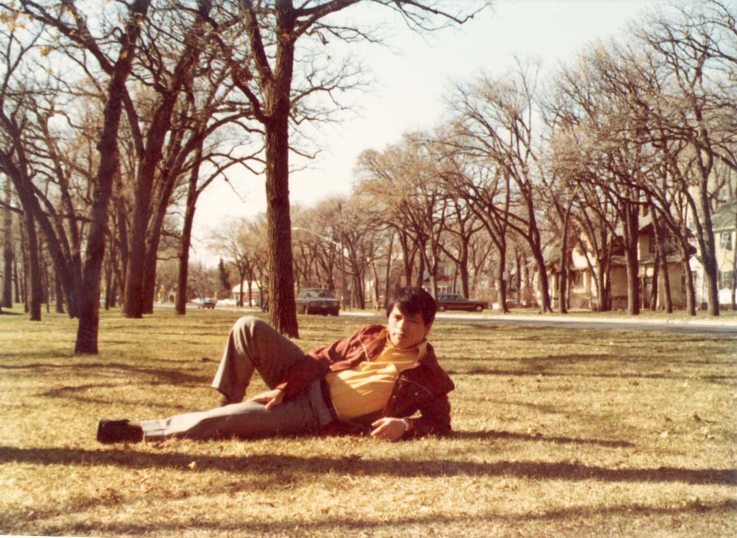 賴世雄攻讀美國明尼蘇達大學研究所