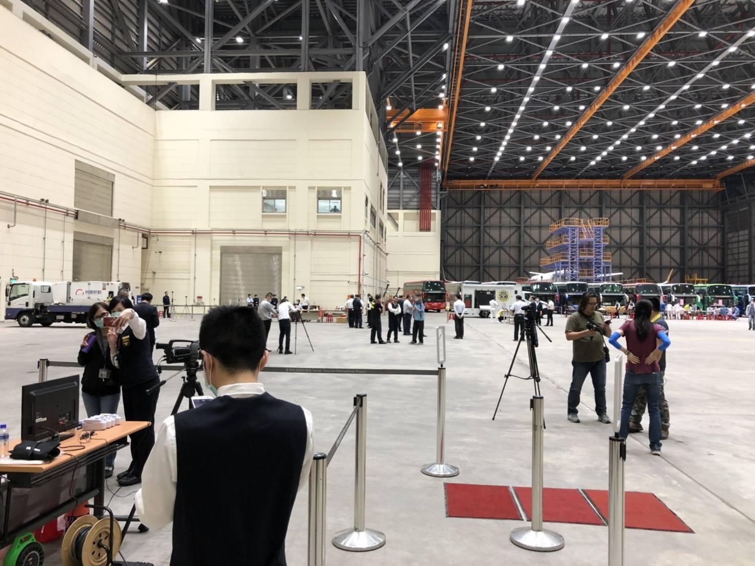 今年3月底,彭楚芸前往松山機場協助檢疫工作。