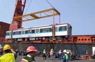 【インドネシア】首都MRT、車両第2弾が到着[運輸](2018/08/20)