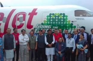 【インド】LCCスパイスがバイオ燃料で運航、国内初[運輸](2018/08/29)