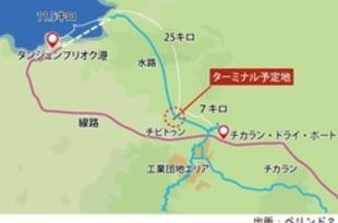 【インドネシア】ペリンド2、内陸運河事業で工業団地新設へ[運輸](2018/08/21)