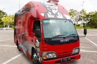 【インドネシア】KFC運営社、フードバス事業を強化[サービス](2018/09/19)