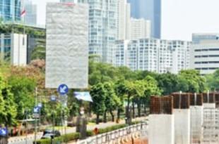 【インドネシア】首都の違法屋外広告取り締まり、強制撤去も[媒体](2018/10/22)