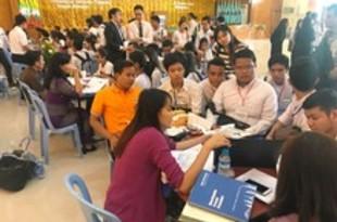 【ミャンマー】タンリン工科大で初の就職フェア、日本支援[経済](2018/10/18)