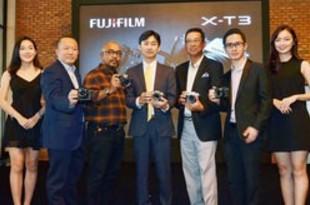 【マレーシア】富士フイルム、「XーT3」を正式発売[製造](2018/10/19)