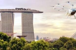 【シンガポール】空飛ぶタクシー、来年に都市部の試験飛行[運輸](2018/10/22)