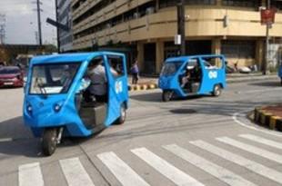 【フィリピン】渦潮電機のeトライク、ケソン市で試験運用[車両](2018/10/01)
