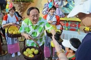 【香港】海洋公園で日本秋祭、青森知事が参加[経済](2018/11/26)