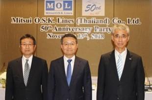 【タイ】泰国商船三井が設立50周年[運輸](2018/11/14)