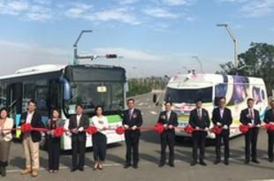 【台湾】中型電動無人運転バス、台中で試験走行開始[運輸](2018/12/25)