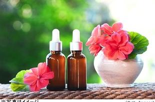 ゼラニウムの香りが更年期症状を軽減か