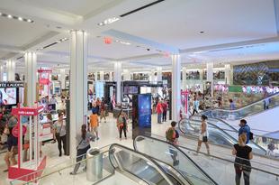 ショッピングしながら健康になれる?
