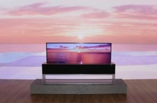 【韓国】LG電子が巻き取り式TV公開、AIを搭載[電機](2019/03/07)