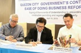 【フィリピン】ケソン市、認可手続き電子化で3団体と覚書[経済](2019/04/17)