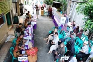 【インドネシア】史上初の同日選は混乱なし、首都南の投票所[政治](2019/04/18)
