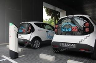 【シンガポール】ブルーSGのEV充電設備、一般車両に開放[運輸](2019/04/24)