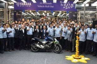 【インド】ヤマハ発、インドで二輪生産が累計1千万台[車両](2019/05/20)