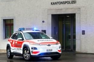 【韓国】現代自、スイス警察にコナEVを供給[車両](2019/06/10)