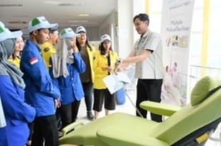 【インドネシア】パラマウントベッド工場を見学、地元大学生[社会](2019/06/27)