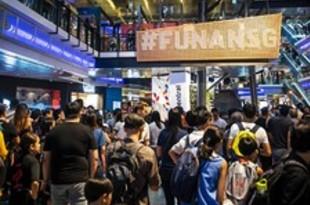 【シンガポール】元電気街の「フナン」、再開発経て開業[商業](2019/07/01)