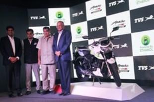 【インド】二輪TVS、国内初のエタノール車を発表[車両](2019/07/15)