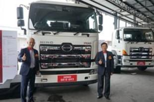 【マレーシア】日野自、大型トラックのセミオートマ車発売[車両](2019/07/19)