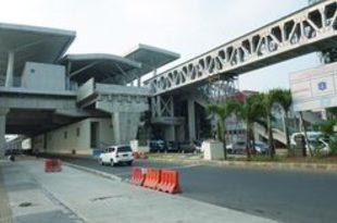 【インドネシア】LRT終点駅の連絡橋が完成、バスと接続[運輸](2019/07/29)