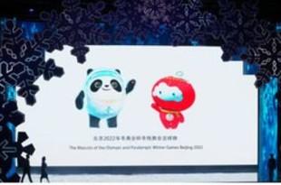 【中国】北京冬季オリパラ、公式マスコット発表[社会](2019/09/19)