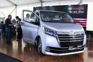 【ミャンマー】トヨタ、高級バン「マジェスティ」を発売[車両](2019/09/23)