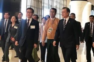 【ミャンマー】文大統領がミャンマー訪問、投資促進を確約[経済](2019/09/05)