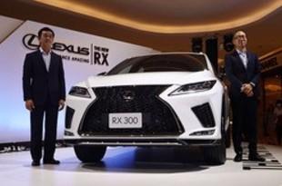 【タイ】レクサス、SUV「RX」の新モデル投入[車両](2019/09/23)