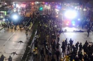 【香港】逃亡犯条例に反対、数万人が抗議活動を強行[社会](2019/09/02)