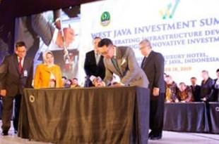【インドネシア】西ジャワの投資26件で覚書締結、4千億円[経済](2019/10/21)