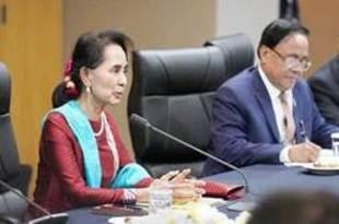 【ミャンマー】「新南方政策」と協調し発展、スー・チー氏[経済](2019/11/27)