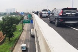 【インドネシア】第2チカンペック一時進入禁止、帰省渋滞で[運輸](2019/12/23)