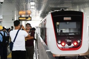 【インドネシア】首都LRTが商業運転開始、運賃5千ルピア[運輸](2019/12/02)