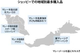 【マレーシア】靴とネスレ「ミロ」が人気、国内大手ECで[商業](2020/01/15)