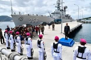 【インドネシア】ナトゥナ海域で警備強化、戦闘機4機派遣[政治](2020/01/09)